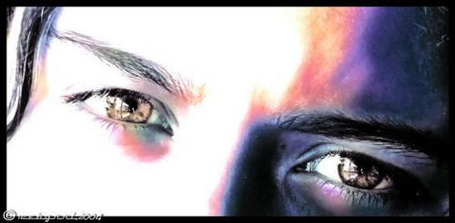 my daughter's eyes by webgrrl