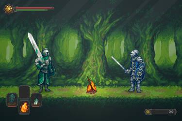 Dark Souls 2 - Forest of the Fallen Giants by AlainGalvan