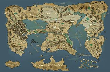 Map of Equestria by MysteryMelt