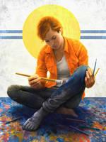 Self Defining Creativity I by mkmatsumoto