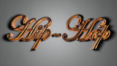 Hip-Hop simple metal wall by LinehoodDesign