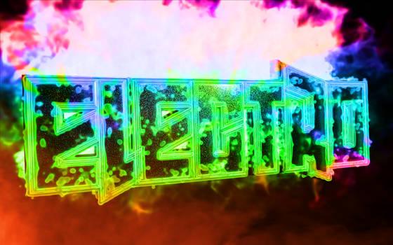 Elelctro Wallpaper HD by LinehoodDesign