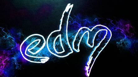 Edm wallpaper by LinehoodDesign