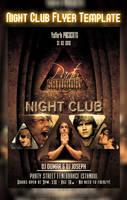 night club flyer by ysfkrk