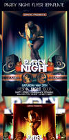 party night flyer template by ysfkrk