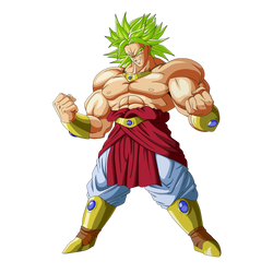 Broly the legendary super saiyan by ChibiDamZ