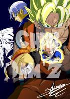 6 Saga Androids by ChibiDamZ