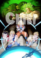 Dragon ball z  films 10 et 11 by ChibiDamZ