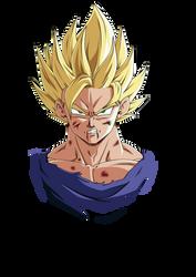 Goku Ssj2 by ChibiDamZ