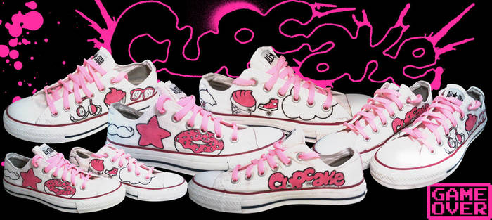 71aca75ae691 Custom Converse    Cupcake by ninja-hamsters on DeviantArt