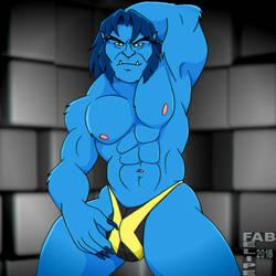 Beast X Thong  by FabFelipe