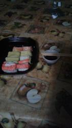 Sushi!! by JulieBnHaLover247