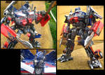 Optimus Prime repaint ROTF by predatorhunter79