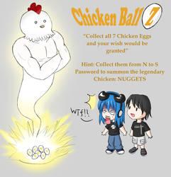 Chicken Ball Z by vagrantslasher17