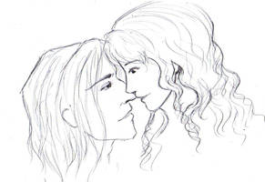 Severus and Hermione by tiannangel