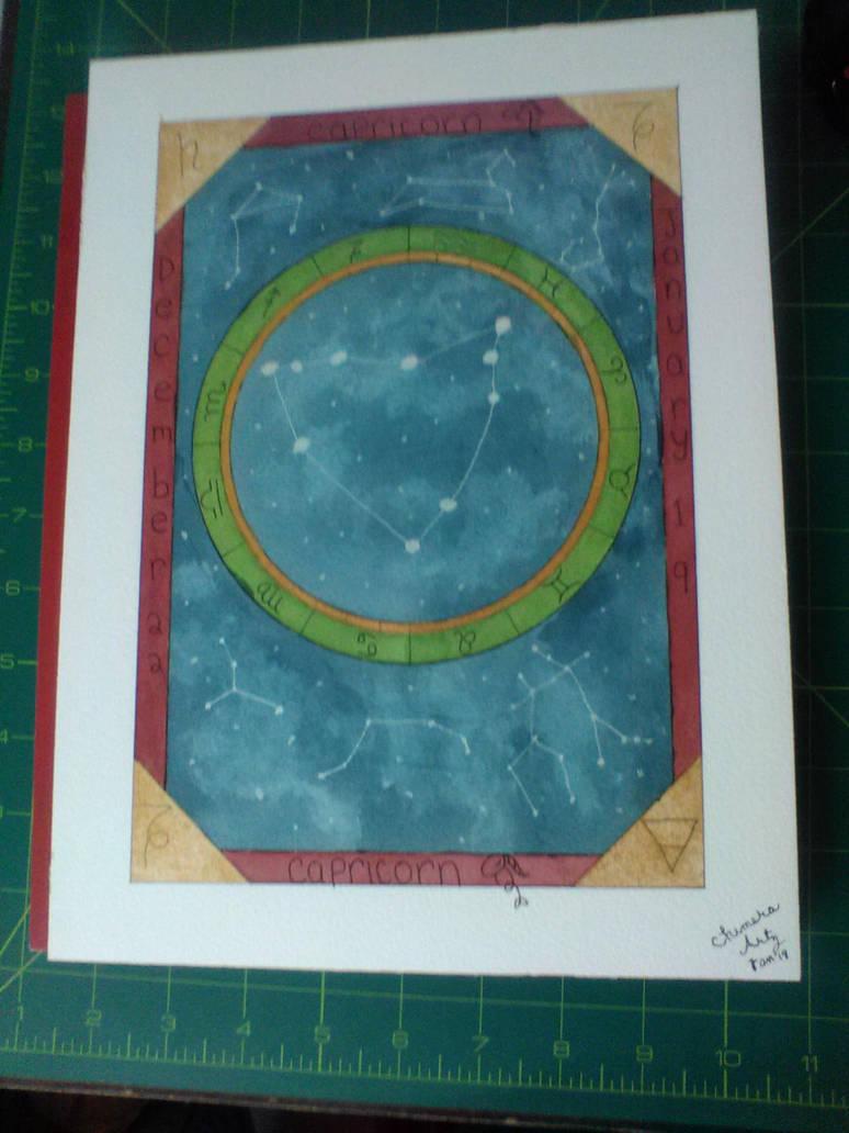 Birthday Commission (Capricorn) by ChimeraArtz