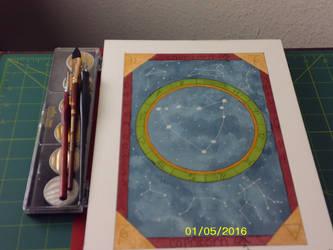 Capricorn: watercolor speedpainting by ChimeraArtz