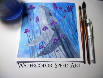 Speed Art by ChimeraArtz