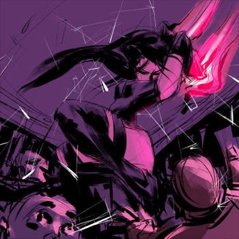 Psylocke by VinceLee