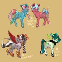 Tarot Ponies 2 [closed][set price] by LavvytheJackalope