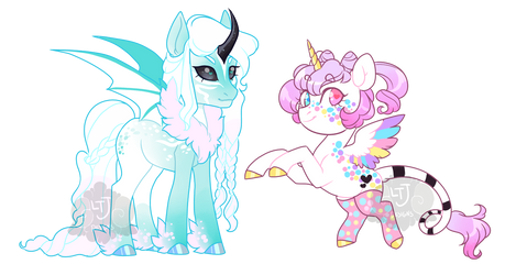 Snow and Spring [Winners Announced!] by LavvytheJackalope