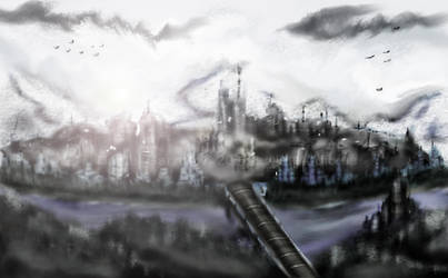 New Camelot Landscape by artiststudio-us