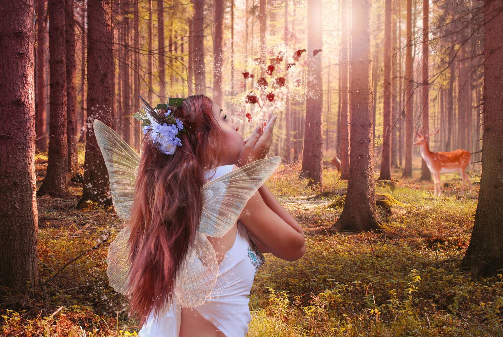 Fall Fairy by gjrc-art