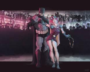The Dark Knight Returns by thousandfoldart