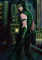 Green Arrow by Kin-Tsuki