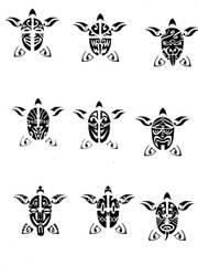 Turtles by ZeroGradi