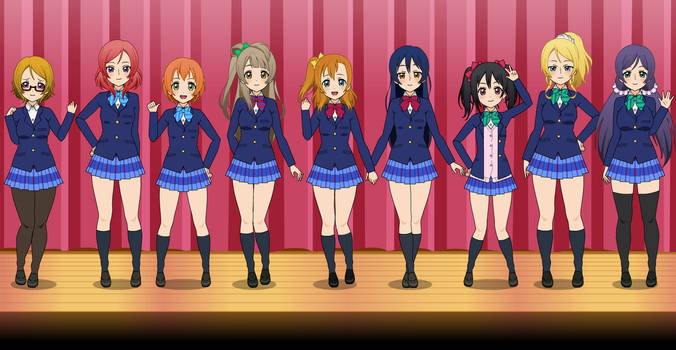 Kisekae Love Live REMADE by OnionFairy99