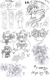 Doodles 2015 by LoveCartoonGame