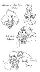 Sevenknights Doodles : Swap! Part 1 by LoveCartoonGame