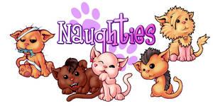 Naughties pussycats. by melvindevoor