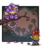 Wonderland restitched by melvindevoor