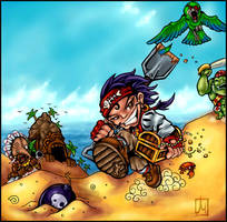 Trap and Treasure by melvindevoor