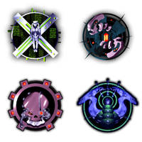 Star Mogul faction logos by melvindevoor