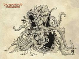 Dark mariner Abomination by melvindevoor