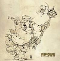 Pirate Ogre by melvindevoor