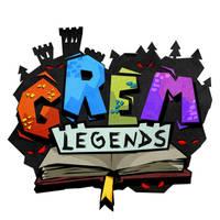 Grem Legends logo by melvindevoor