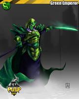 Green Emperor by melvindevoor