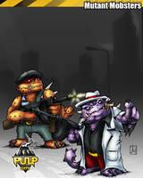Mutant Mobsters by melvindevoor