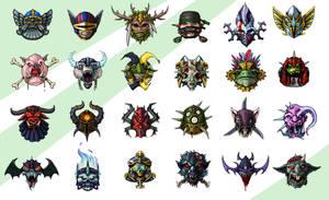 Fantasyfootball Logos by melvindevoor