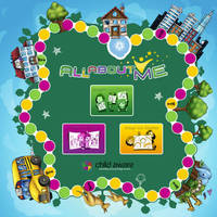 All About Me game board by melvindevoor