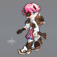 070819 chibiquin by bara-chan