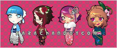 080225 kimonogirls by bara-chan