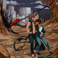 Fight by DeadmanJackalope