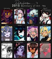 2015 Summary of Art by DeadmanJackalope