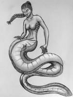 MerMay Eel-Mermaid by F3RYX