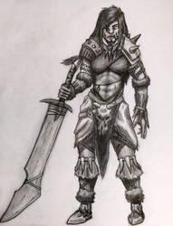 Barbarian by F3RYX